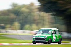 Mark Heynen - Morris Mini (MPH94) Tags: oulton park cheshire north west motorsport motor sport race racing motorracing auto car cars october photography canon 500d cscc classic sports club adams page swinging sixties mark heynen morris mini