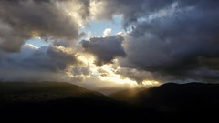 """"""" (Marco Tiano) Tags: light luce montagne mountains sunrise autumn autunno october ottobre red italy calabria"""
