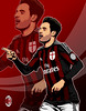 Bonaventura (zarra.nadilla) Tags: vector vectorxvexel vectorart vexel cartoon creative collor comic caricature art artist acmilan