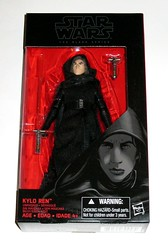 star wars the black series 6 inch action figures 2016 red packaging the force awakens #26 kylo ren unmasked rogue  one the force awakens misb a (tjparkside) Tags: kylo ren unmasked ben solo star wars sw tbs black series 6 six inch action figure figures hasbro 2016 rogue one 1 ep episode vii seven tfa force awakens staff lightsaber red package sith hilt cloak hood first order 1st cross guard unconventional number 26 twenty disney leia organa han general princess son