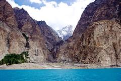 Attabad Lake Pakistan (malik_ali_raza1) Tags: pakistan hunza attabad landscape pak china friendship tunnel cludy sky mountain