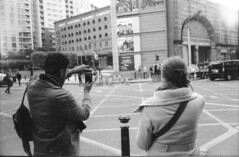Street Photography? (Stuart Grout) Tags: bwfp leica m2 ilford hp5 manchester film street