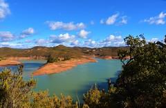 Albufeira da Barragem (Wensley25) Tags: water barragem algarve mountains