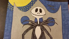 Jack Skellington DIY Greeting Card (Flan de Coco) Tags: doodle diy greeting card jack skellington nightmarebeforechristmas
