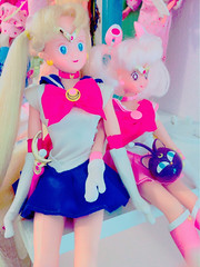 Sisters of the Moon (moonlightcoaster) Tags: sailor moon chibi chibiusa serena usagi rini irwin