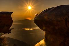 Bucht von Kotor (trombone65 (PhotoArt Laatzen)) Tags: travekwithpavel pavelkaplun kreativstudiopavelkaplun montenegro urlaub2016 urlaub 2016 fotoreise buchtvonkotor sonnenuntergang