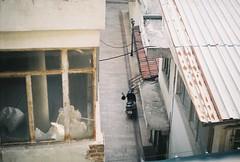 000008 (sizitanimiyorum) Tags: woman looking zenit 122 analog film tudor outdoor street photo searching style vintage