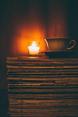 Tea (Lavanda Moon) Tags: vinyl canon autumn dark 24mm tea novisad serbia