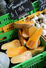 Cut Pumpkin 1 (Couscous & Consciousness) Tags: vegetables pumpkin buttercup squash zucchini butternut courgette zucchiniblossoms nelsonmarket
