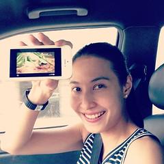 ขับรถกลับเมืองกาญจน์ @kornkamons นั่งดูรายการพากินอาหารญี่ปุ่น True X-zyte ระหว่างทางผ่านแอพดูทีวี ของ TrueVisions Anywhere สบายเฉิบ เหมือนนั่งดูที่ย้านเลยง่ะ