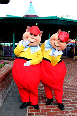 Tweedle Dee and Tweedle Dum (disneylori) Tags: disney disneyworld characters wdw waltdisneyworld magickingdom tweedledee tweedledum fantasyland disneycharacters tweedles nonfacecharacters meetandgreetcharacters aliceinwonderlandcharacters