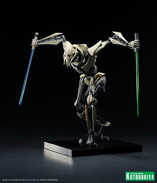 壽屋 ARTFX+ Statue 星戰 葛里維斯將軍