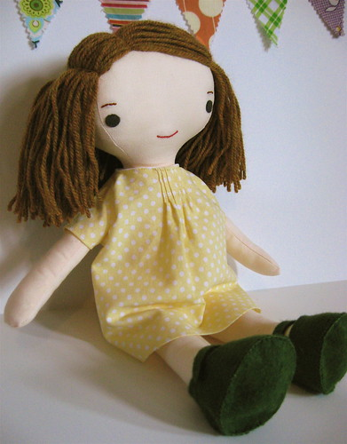 Wee Wonderfuls Girl Doll