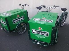 Heineken Beer Marketing Bikes (portlandpedalworks) Tags: beer heineken marketing bikes