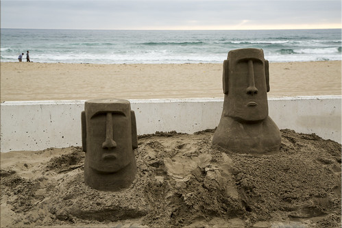 Ancient Moai Relics - in San Diego !