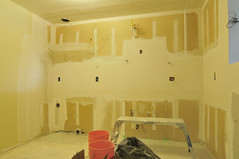 Drywall nearing completion (funston) Tags: kitchen drywall condo condominium homeimprovement homeremodel kitchenremodel homeremodeling