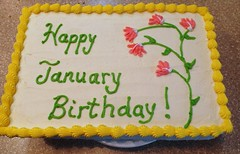 January cake by Jenni Pastry Chef Online Raleigh Durham,  NC www.birthdaycakes4free.com