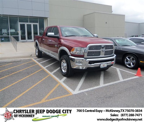 Dodge City of McKinney would like to say Congratulations to Patricia Lee on the 2012 Dodge Ram