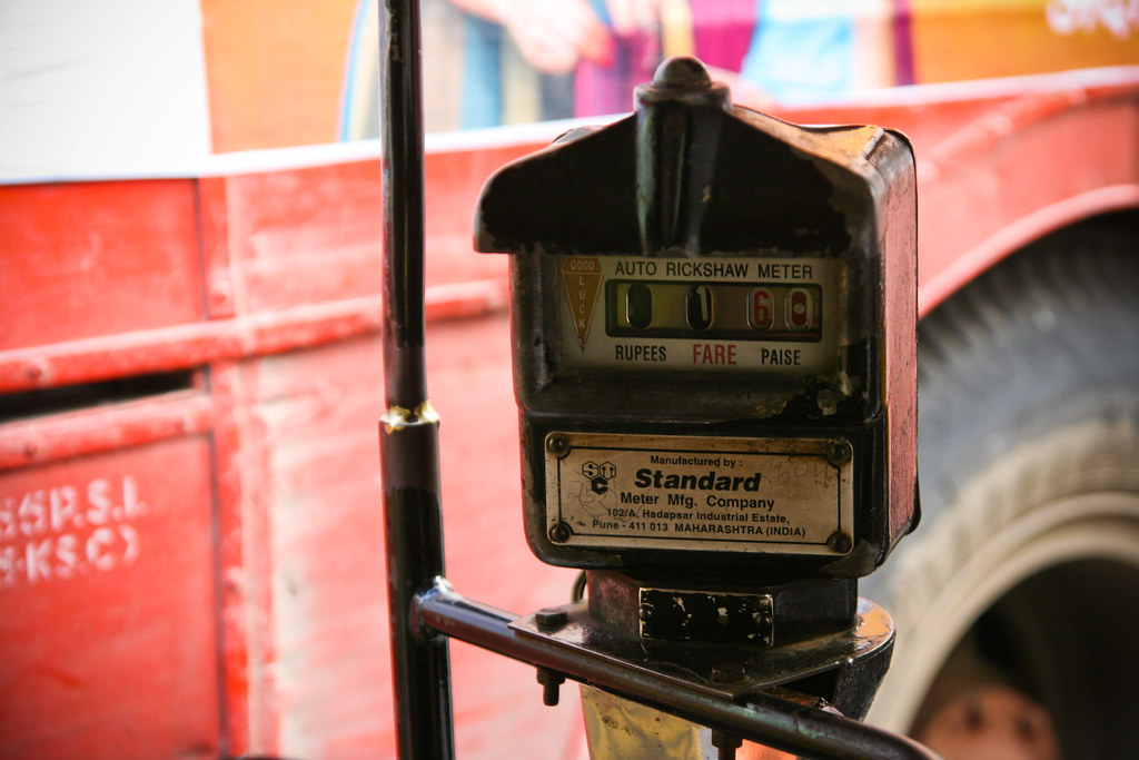 Auto-rickshaw meter