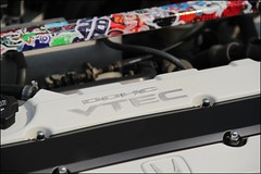 Vtec!! Honda power of dreams (Roog's Photo's) Tags: honda dc2 vtec stickerbomb