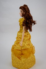 2016 Singing Belle 16 Inch Doll - US Disney Store Purchase - Belle Deboxed - Standing - Full Right Side View (drj1828) Tags: us disneystore belle beautyandthebeast singing 16inch 16 lightup interactive 2016 purchase deboxed standing