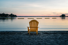 Yellow Chair (AxelM45) Tags: ontario sony sandbanks fe2470 a7r2 a7rll