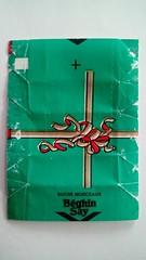 Srie Papiers cadeaux - noeud A 01 (periglycophile) Tags: france sugar cube packet say sucre cadeaux papiers morceaux sucrology beghin priglycophilie
