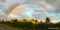 20160725-IMG_0937 Rainbow Over Tower Stonepits Lane Inkberrow Worcestershire_.jpg (rodtuk) Tags: phototypes inkberrow england b24 stonepits technology iphone6s places buildings worcestershire kit midlands uk misc photographicequipmentused print