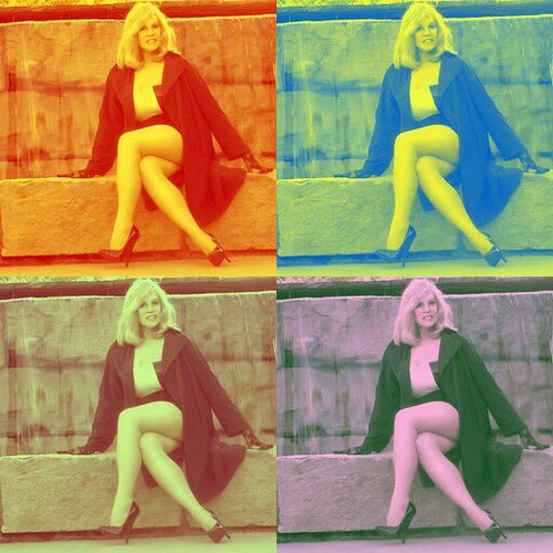Channeling my Best Warhol Moment