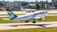 Mahan Air A310 (denlazarev) Tags: russia runway clouds canon air aviation airline airplane airport aircraft airliner sky spotting fly photo plane lightroom    outdoor takeoff airbus a310 mahanair sochi adler aer urss epmnf mountains   aerspot2016 baselaero caucasus