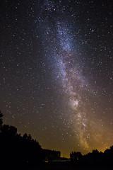 Milky Way - Remoncourt (loicciaux) Tags: milky way stars galaxy landscape colors voie lacte toiles light