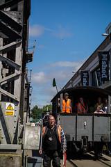 Harbourside Festival (clogette) Tags: bristol bristolharbfest bristolharbourfestival conductor harbourside train harbour festival england unitedkingdom gb