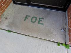 Fraternal Order of Eagles, Albert Lea, MN (Robby Virus) Tags: albertlea minnesota foe fraternal order eagles aerie 2258 lodge temple terrazzo floor entry entrance front door