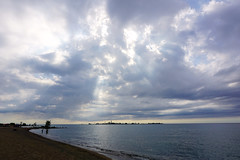 A Little Heavenly Tumult, Chantry Beach (Craig James White) Tags: canada ontario brucecounty saugeenshores southampton lakehuron clouds filteredlight chantryisland