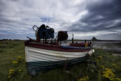 The Island.. (Moonbags) Tags: island holyisland lindisfarne castle sea sky coastal coast northumberland sonya77 sony sigma1750mm