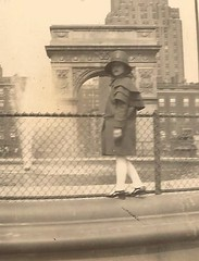 Central Park? (I've never been there) (912greens) Tags: kids children girls newyork 1920s style fashion folksidontknow fountains arches buildings streetscenes poise serious beauty