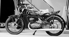 DKW RT 250/2 (tusuwe.groeber) Tags: dkw 2502 rt dkwrt2502 schwarz weis black white blanco negro bw sw bike 1953 1954 1955 motorcycle motorbike cycle sony nex7