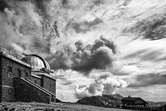 Campo Imperatore (francesco_if ) Tags: observatory blackandwhite mountain clouds summer campoimperatore osservatorio sky montagna light d3 nikon