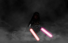 """Savior, conqueror, hero, villain. You are all things and yet you are nothing. In the end, you belong to neither the light nor the darkness. You will forever stand alone."" (Sir Prime) Tags: lego starwars old republic sith moc custom"