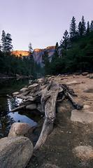 Merced River at Sunrise, Yosemite (Ro-Ro-photo) Tags: yosemite tokina1116 mercedriver yosemitevalley