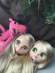 Unedited comparison shot. Ash Blond and Honey Beach Blond