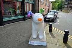 The-Snowdog-E-23-September-2016 (Steve Ellwood Whitley Bay) Tags: greatnorthsnowdogs thesnowdog ouseburn limestreet thesevenstories ellwood steveellwood