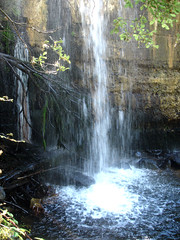Cada parcial. (margabel2010) Tags: cascadas cascada agua pared presa presas airelibre aguadulce espuma ramas madera hojas piedra blanco blancoyverde blancoyazul solysombra sierra guadarrama