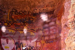 tre in uno / three in one (Vincenzo Elviretti) Tags: palestrina parco porcodio porco dio tre treinuno fantasma fantasmi ghost