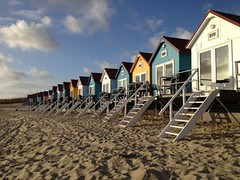 Beach Houses (micebook) Tags: kurzurlaub nordsee strandhuschen urlaub zeeland vlissingen niederlande tourism holland rotterdam amsterdam europe city beach houses canal ocean science