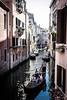 2016-08-10_Venedig - Venice - gritty version_IMG_7876 (dieter_weinelt) Tags: bluesky brücken dieter fiona gondeln kanal kanäle melanie sommer2016 sonnenschein touristen venedig venice victoria blauerhimmel boats boote bridges canals gondolas summer2016 sunshine tourists