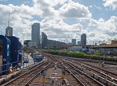 The Docklands Light Railway (D_Alexander) Tags: uk england london eastlondon docklands poplar poplardlrstation docklandslightrailway