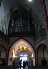 Die Nikolaikirche, (beate krems) Tags: historisch kirche krnchen orgel