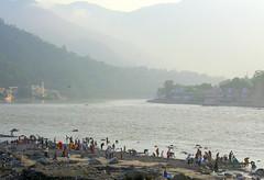 Maksha by Ganges ! (Monsoon Lover) Tags: india flickr nirvana hindu pilgrim ganga ganges rishikesh riverganga hrishikesh uttarakhand waterworship sudipguharay maksho