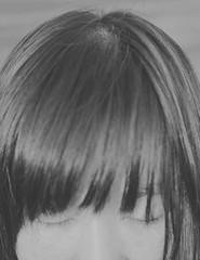 224/365 ,/ Me,still me () Tags: selfportrait girl hair head bank half wen eyelash    selfie  closedeye    voigtlandercolorskoparex2835 wen234